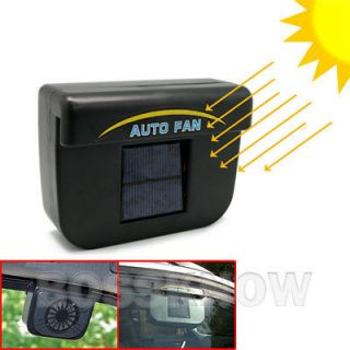 Air Ventilation Heat Exhaust Cooler Cool Radiator Auto Fan System