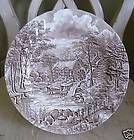 Alfred Meakin THE MILL Brown Dinner Plate/s England