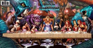 GRIMM FAIRY TALES ALICE IN WONDERLAND #6 SPAY TRI FOLD COVER A