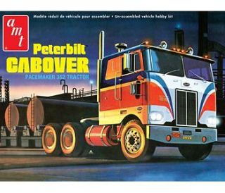 AMT 1/25 PETERBILT CABOVER 352 PACEMAKER TRACTOR MODEL KIT 759