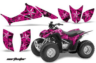 AMR RACING OFF ROAD QUAD GRAPHIC DECAL KIT STICKER WRAP HONDA TRX 90