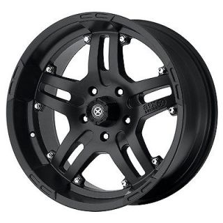 16x9 American Racing ATX Artillery Black Wheel/Rim(s) 6x139.7 6 139.7