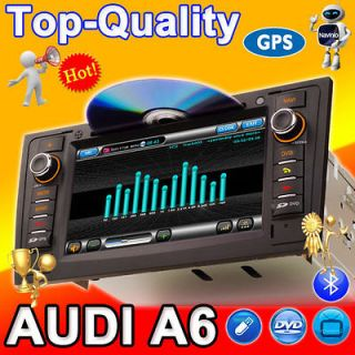 AUDI A6 S6 Car GPS Navigation DVD Player Radio Auto 3G RDS In Dash PiP