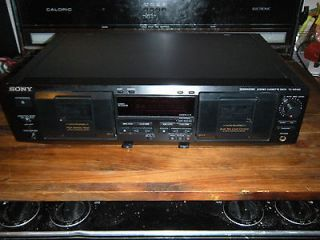 sony cassette player in Home Audio Stereos, Components