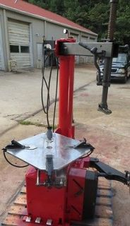 Corghi Tire Changer A9824 TI 24 Rim Clamp Air Used HEAVY DUTY SHOP