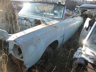 1965 Plymouth Belvedere Convertible PARTS CAR