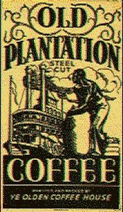 Old Plantation Coffee Porcelain Refrigerator Magnet New