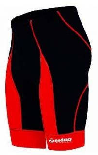 Zimco Mens Pro Cycling Bike Bicycling Cycle Shorts COOLMAX Padded