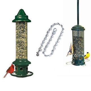 BROME SQUIRREL BUSTER PLUS & MINI FINCH SQUIRREL PROOF BIRD FEEDERS