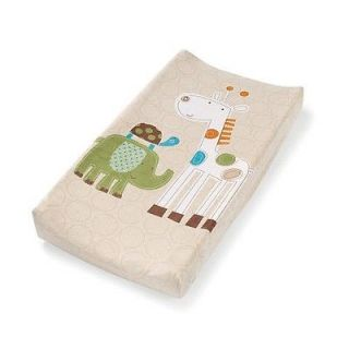 New Ultra Plush Changing Table Pad Cover Safari Stacks So Cute