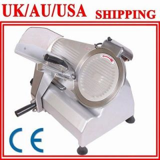 COMMERCIAL ELECTRIC FOOD&MEAT SLICER 10 BLADE SEMI AUTOMATIC