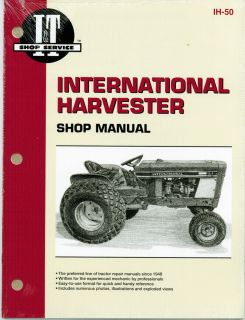 Shop Service Manual for International Harvester Tractor   Manual