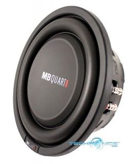 400W MAX DUAL 4 OHMS LOW PROFILE SHALLOW CAR STEREO SUBWOOFER