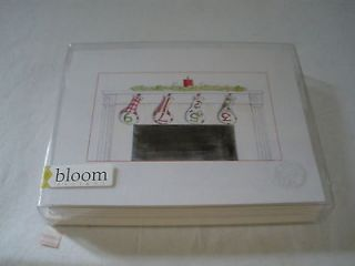 Bloom Christmas Holiday Golf Note Cards Club Covers Hanging Mantle