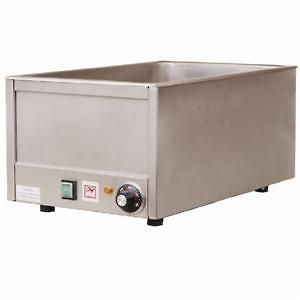 FULL SIZE COMMERCIAL COUNTERTOP ELECTRIC FOOD WARMER STAINLESS STEEL