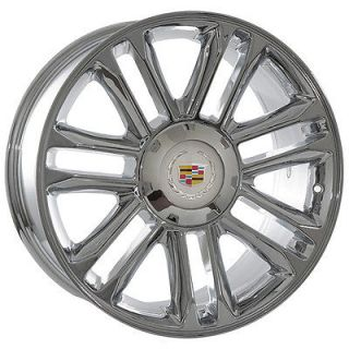 20 inch Cadillac Escalade 2012 Platinum chrome wheels rims