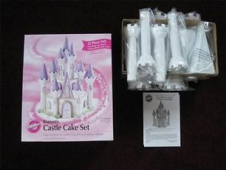 Wilton Romantic Castle Cake Set 32 Pcs ~ Barbie Princess Pirate Cakes