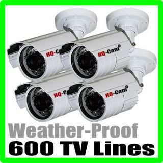 Cam CCTV Security Surveillance 4x Weather Proof Infrared Bullet Camera