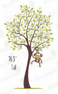 large Tree Removable Vinyl Wall Decal Stickers Nursery Baby Kids Room