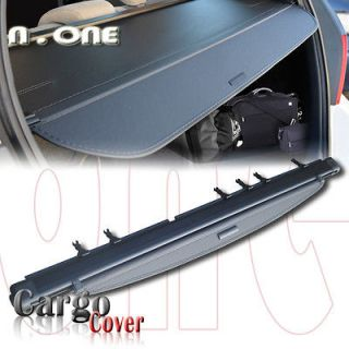 BLACK TRUNK CARGO COVER DIVIDER TRUNK SECURITY SHADE REPLACEMENT 02 06