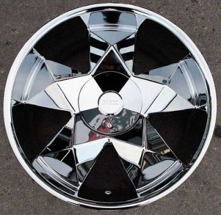 GREED VIRTUE 22 CHROME RIMS WHEELS LINCOLN NAVIGATOR