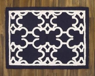 CoCaLo Couture HARPER Rug Mat   Boys Nursery   Kids Room Blue White