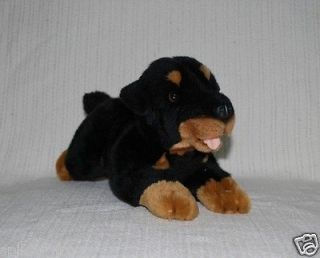 NEW* ROTTWEILER PUPPY DOG SOFT STUFFED ANIMAL PLUSH TOY 30cm/12inch