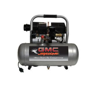GMC SYCLONE 1650A Ultra Quiet , Lightweight & Oil Free Air Compressor