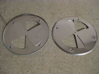 Aluminum Round Air Wall Vent 7 7/8 7.875 Horse Trailer Dog Box