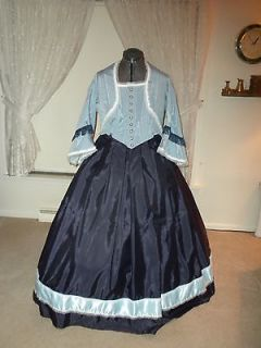 Civil War Visiting/Ball/ Tea Gown 5 pc set From My True Elegance Line