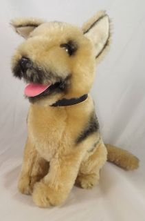 Dakin Vintage Plush German Shepherd Puppy Dog 9 1975 Nature Babies