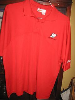 Red Polo Shirt XLarge Budweiser #9 Beer Nascar Winners Circle Racing