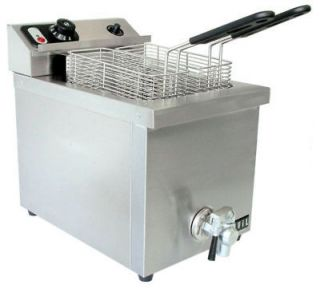 Vollrath 40709 15lb Commercial Electric Deep Fryer 220V
