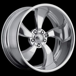 / FORGED,, 18X15 SW4 / STREETER SHOWWHEELS FORD DODGE CHEVY RODS