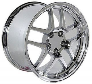 17 Rim Fits Corvette Z06 Wheel Chrome