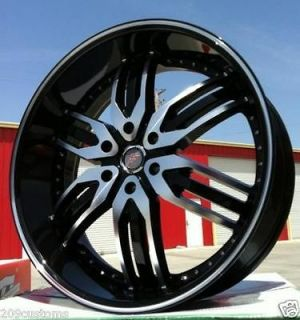 CHROME ESCALADE DENALLI CADILLAC CHEVY RIMS WHEELS AND TIRES ZENETTI