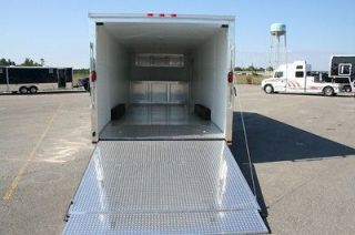 5x20 Enclosed Trailer Cargo Car Transport Racing 8 x 20 ft