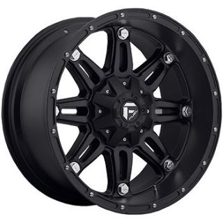 18x12 Black Fuel Hostage 8x170  44 Rims Nitto Trail Grappler 35X12