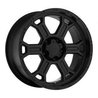 17 x9 inch V tec Raptor black wheels 5x5.5 5x139.7  12 / Dodge Ram