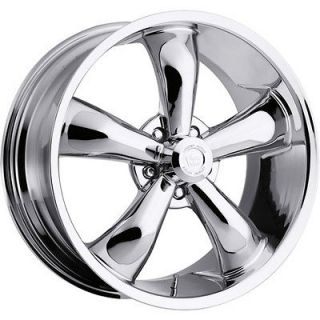 22x8.5 Chrome Vision Legend 5 Wheels 5x5 +32 JEEP GRAND CHEROKEE SRT8