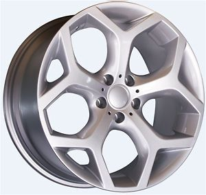 20 Y SPOKE ALLOY WHEELS BMW X5 X6 + 275/40/20 FRONT AND 315/35/20