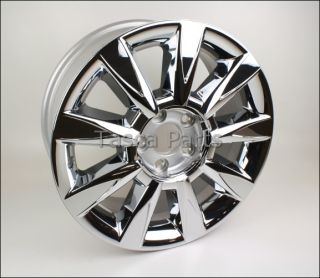 New 17 x 7 5 Chrome Rim Wheel 2010 2013 Lincoln Zephyr MKZ