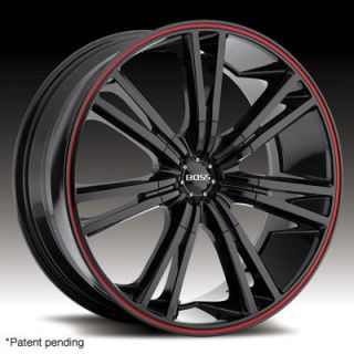 EAGLE BLACK W RED STRIPE MERCEDES 3 SERIES BMW CAMARO WHEELS RIMS