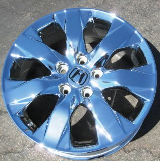 YOUR STOCK 4 NEW 17 FACTORY HONDA ACCORD OEM CHROME WHEELS RIMS 08 11