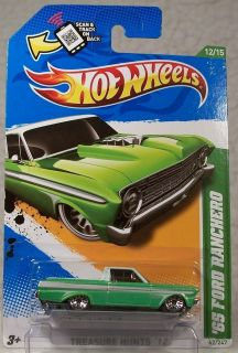 2012 Hot Wheels Treasure Hunt 62 65 Ford Ranchero 12 15