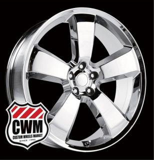 Dodge Charger SRT8 Style Chrome Wheels Rims for Chrysler 300 2011