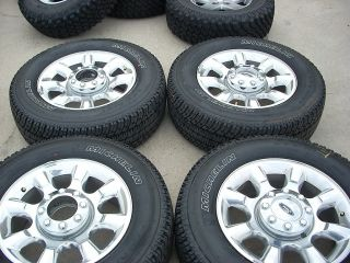 20 2011 Ford F250 F350 Wheels Tires Rims Polished 3844