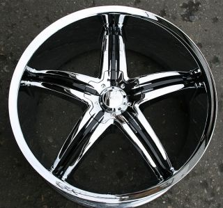 Viscera 770 22 Chrome Rims Wheels Nissan Maxima Altima 5 x 114 3