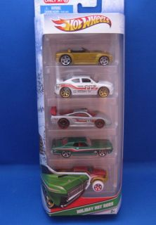 Hot Wheels Holiday Hot Rods 2011 Target 5 Pack