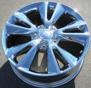 Dodge Durango Jeep Grand Cherokee Chrome Wheels Rims Set
